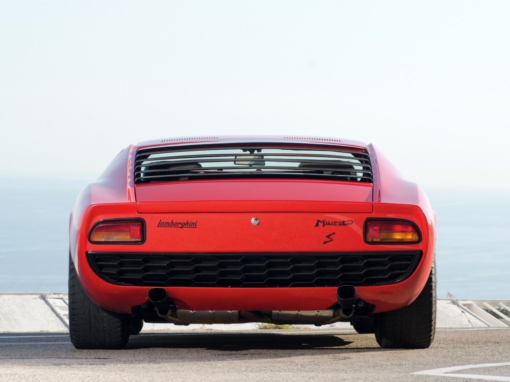 Bertone did great rear ends, like the Miura...