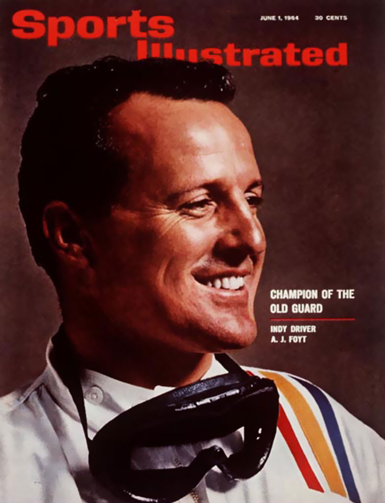 A.J.-Foyt-cover-of-Sports-Illustrated-June-1964