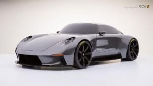 Porsche concept front