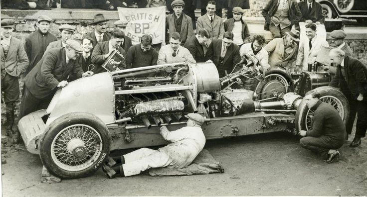 Were the LSR attempters of the 20s and 30s proto Hot Rodders?