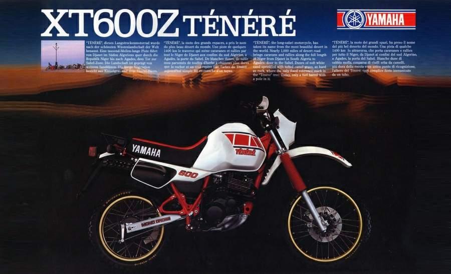 Yamaha XT600 Tenere 84 2