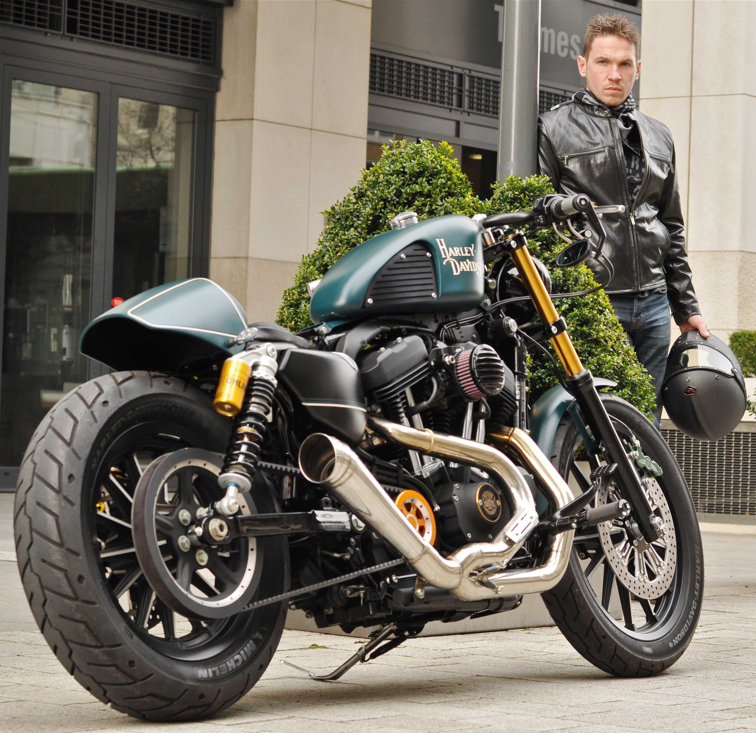 Harley Davidson: Charlie Stockwell Of Warr's
