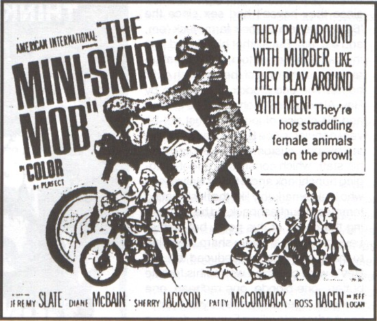 mini skirt mob poster