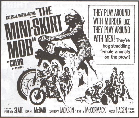 mini skirt mob poster