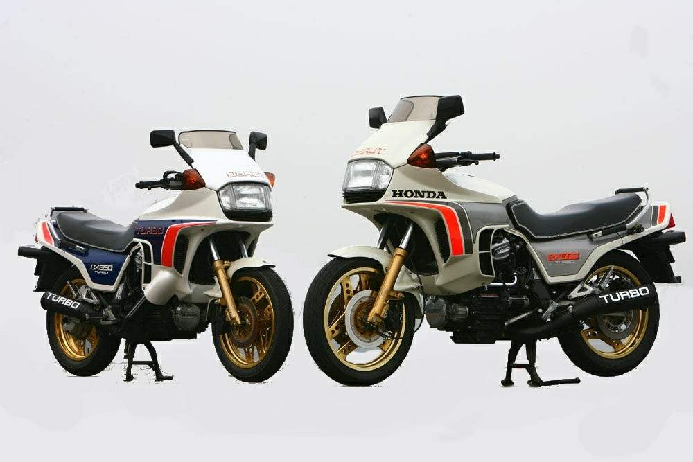 Honda CX500 Turbo 7