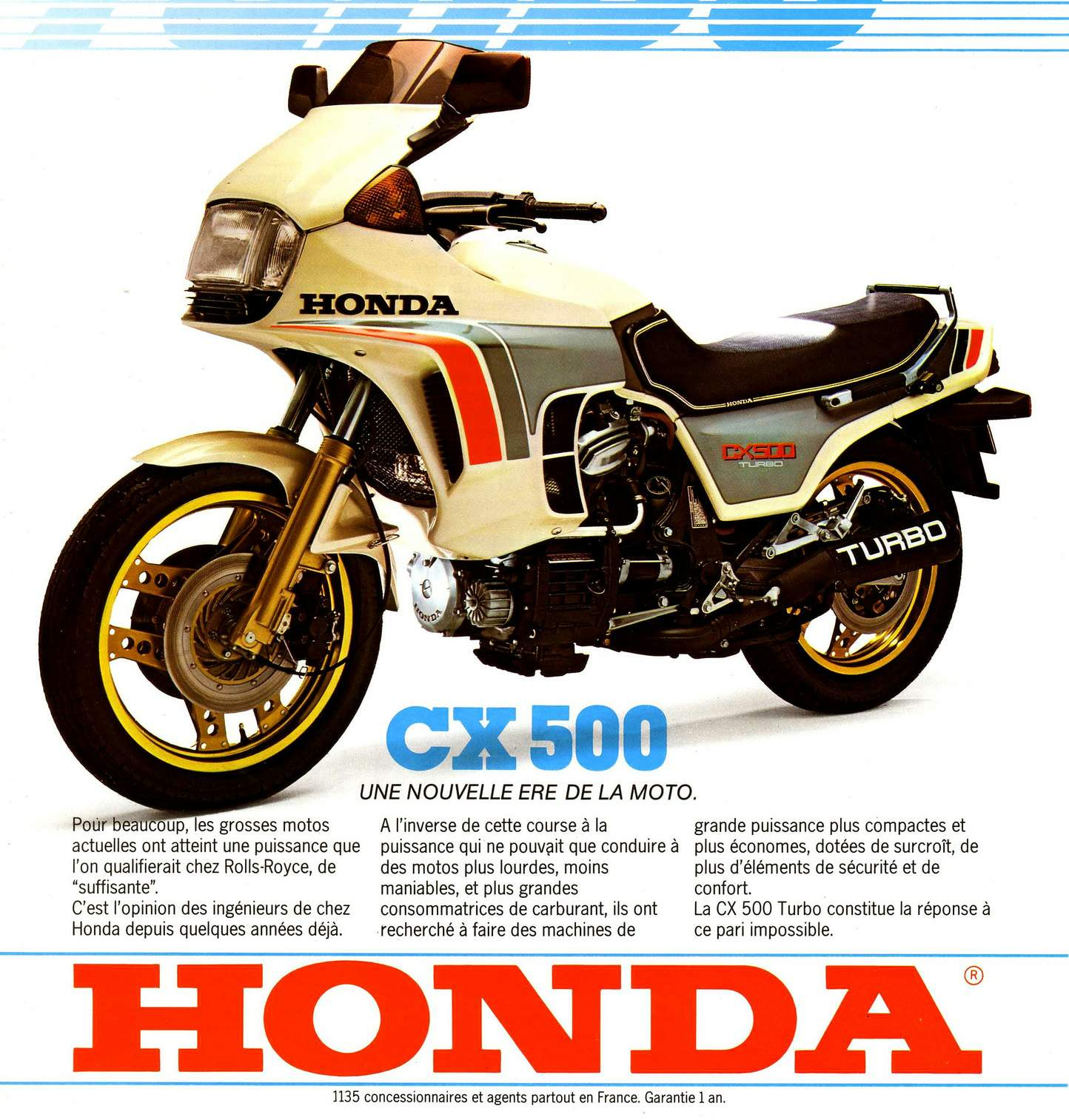 Honda CX500TC