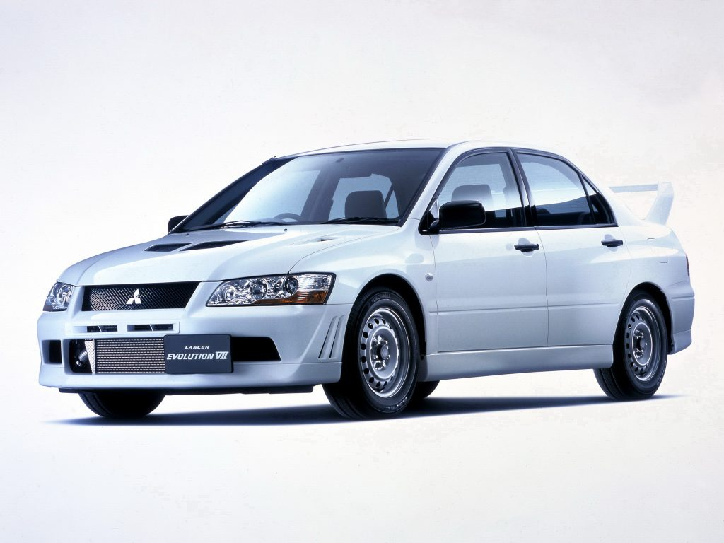 The Evolution Of The Mitsubishi Lancer Evo Influx
