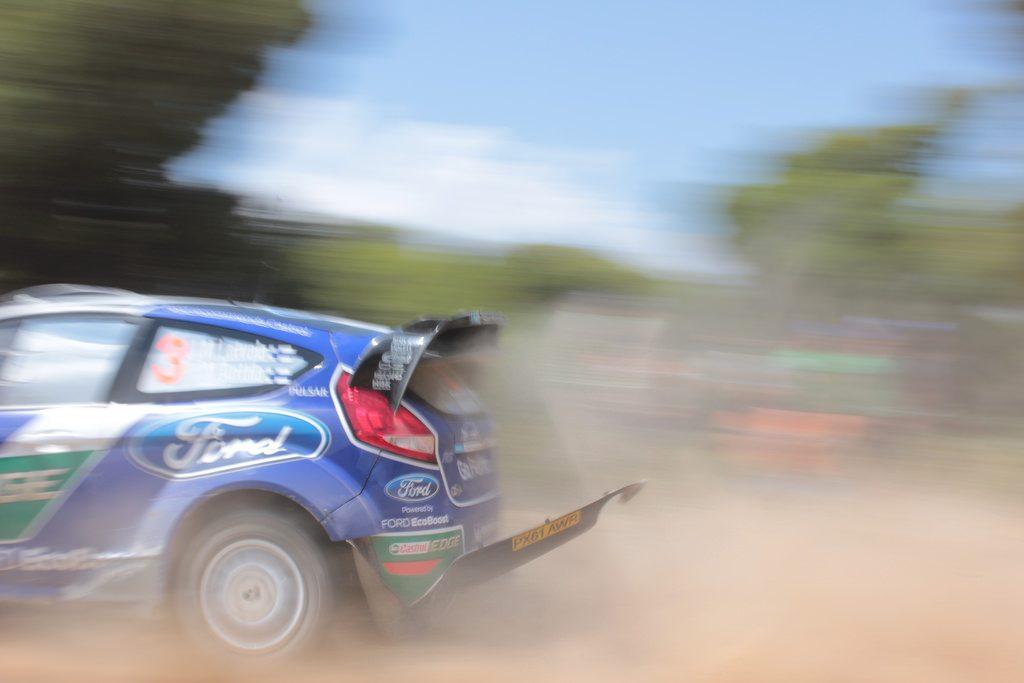 fiesta WRC rear