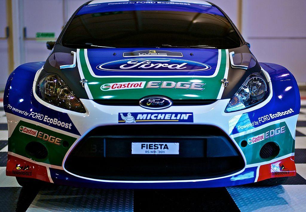 Fiesta WRC front