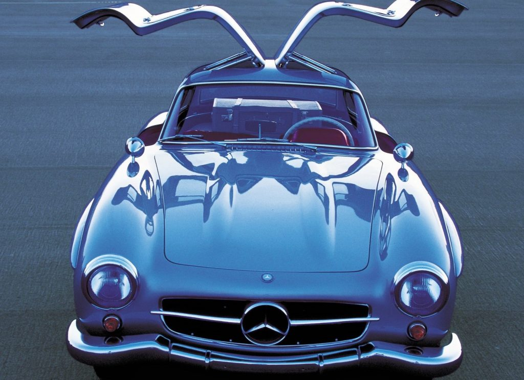 Mercedes 300SL Gullwing open