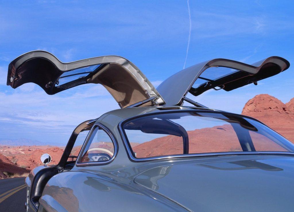 Mercedes gullwings