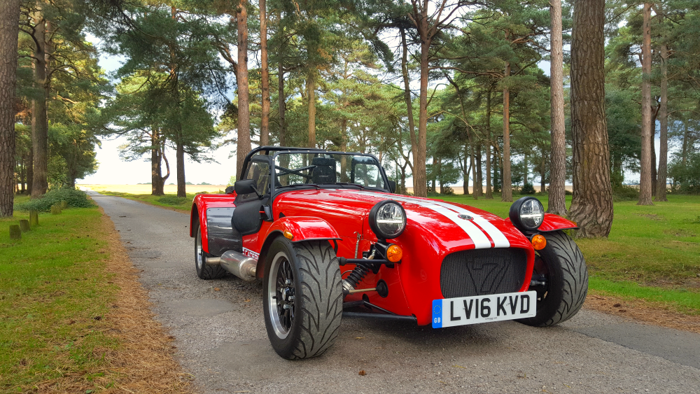 Caterham 310R three quarter