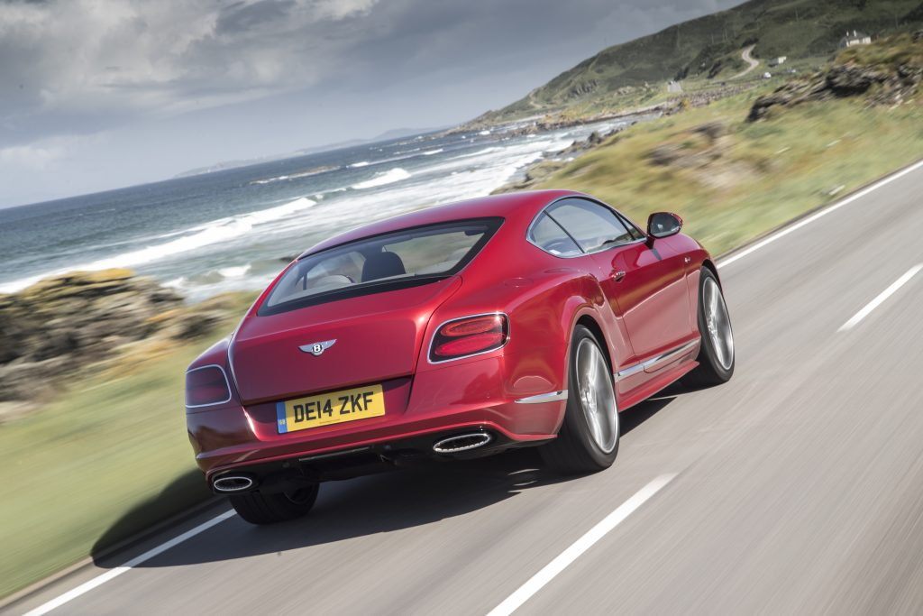 Bentley GT coast