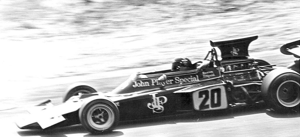 Fittipaldi in Lotus