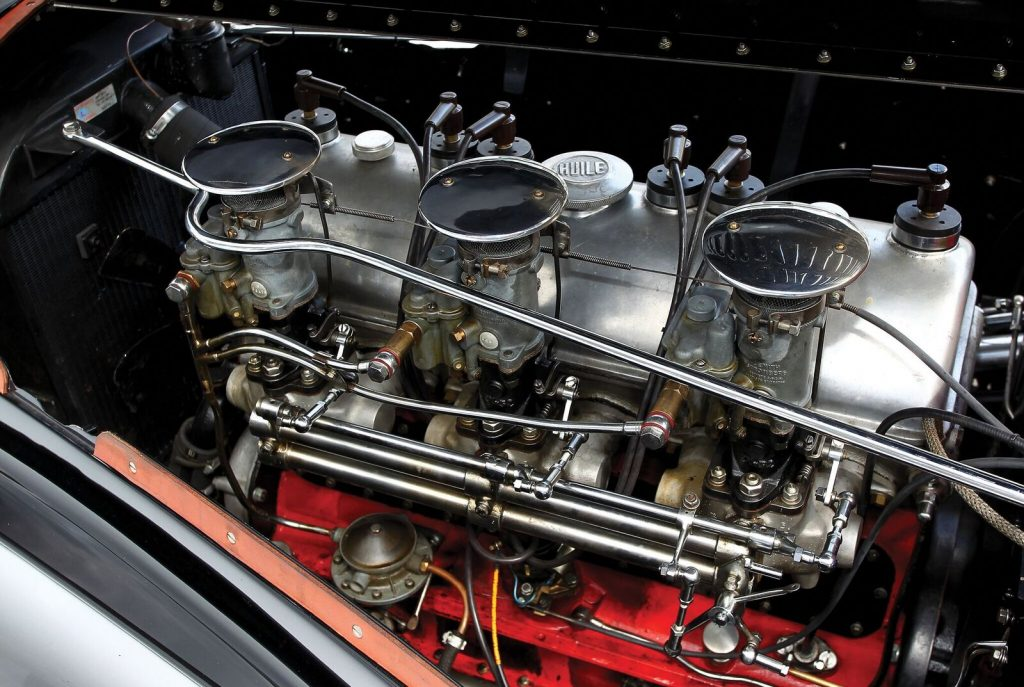 Talbot-Lago engine