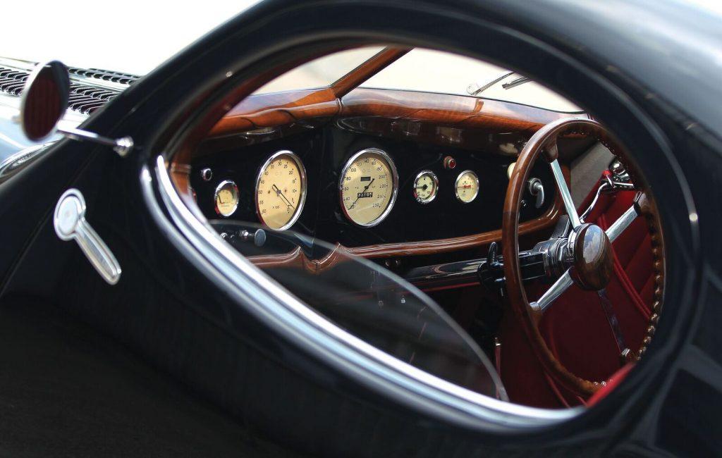 Talbot-Lago interior