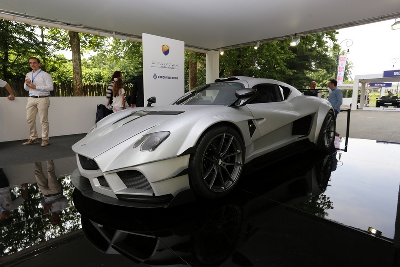 Evantra on stand