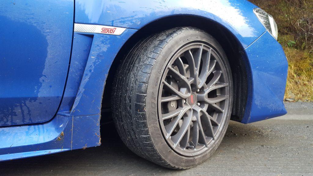WRX STi wheel