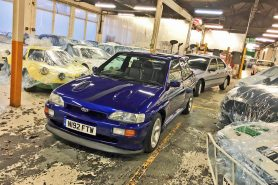 Cosworth in storage