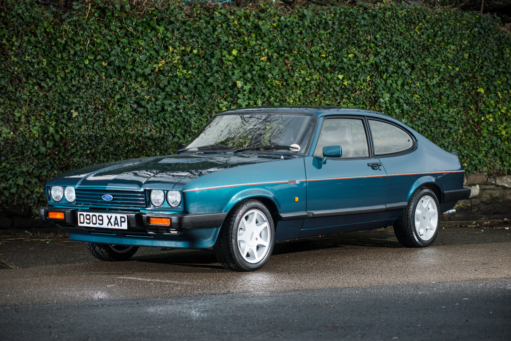 Ford Capri blue