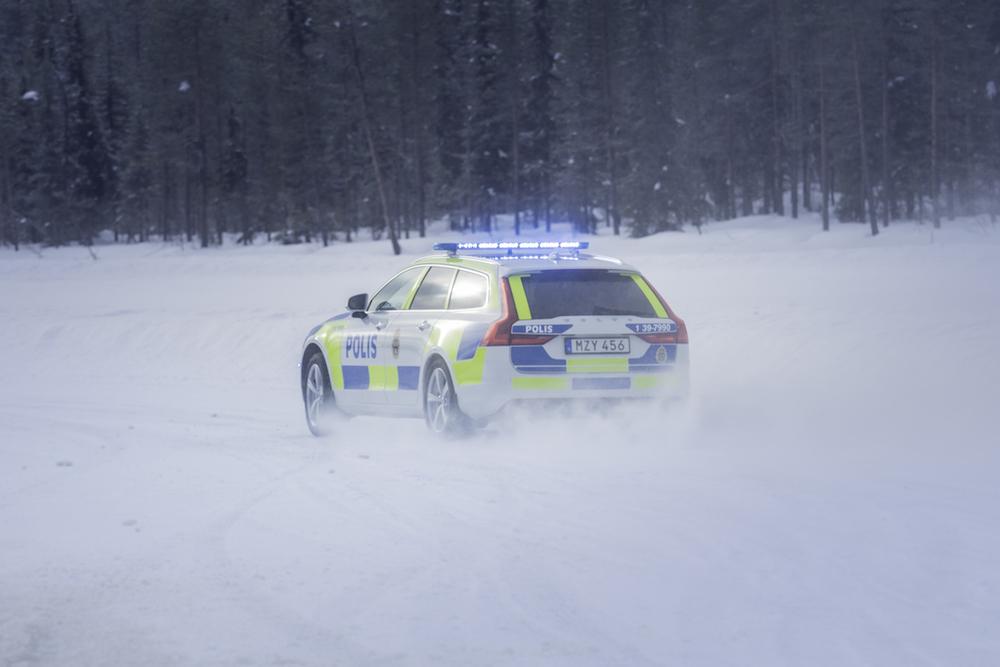 Volvo snow