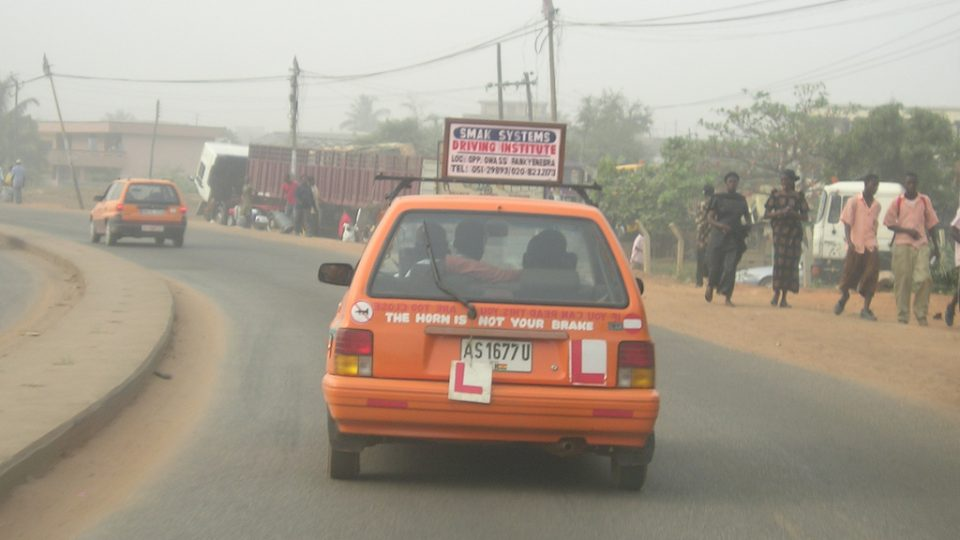 Transaid learner car