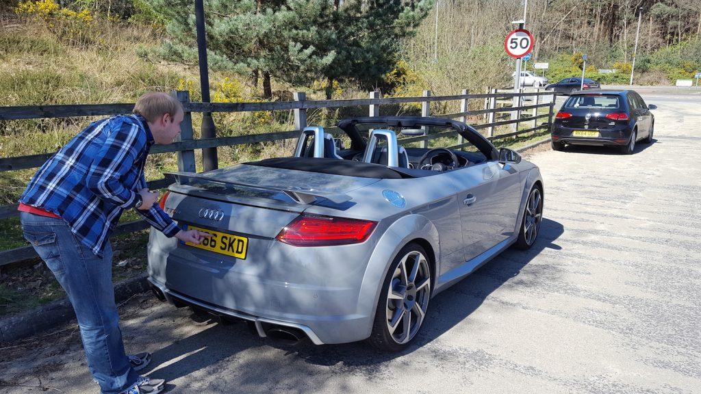Audi TT rear
