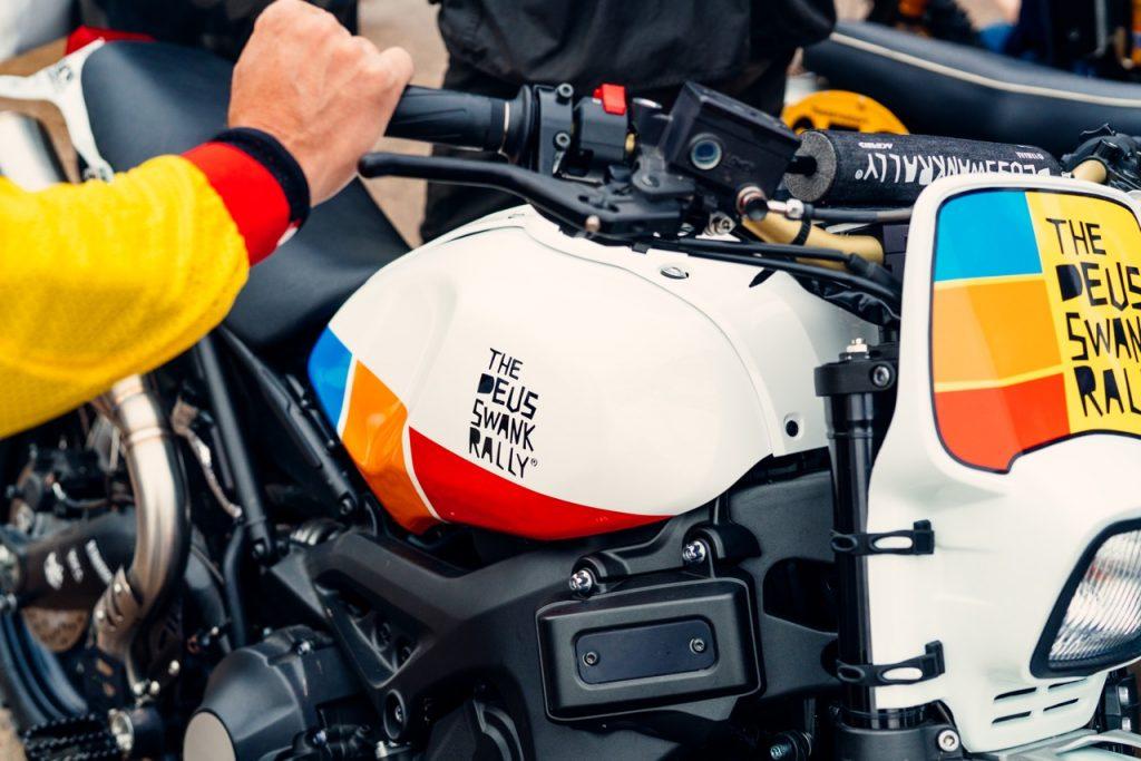 Deus Swank bike closeup