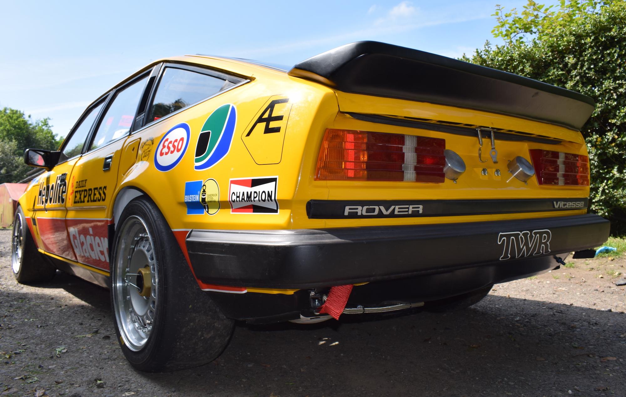 Hepalite Rover SD1 Vitesse Steve Soper