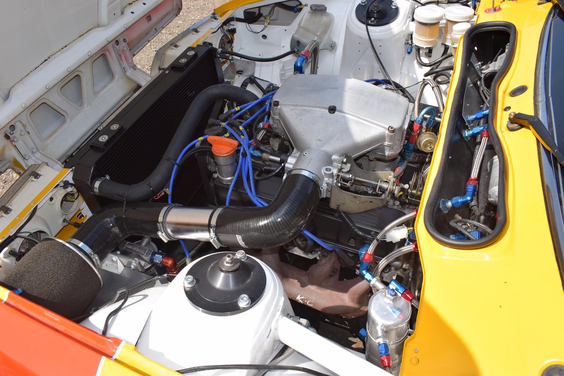 Engine 3.5litre Rover SD1 Vitesse touring car