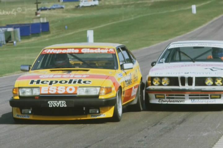 British Saloon Car championship 1983 Rover Vitesse Steve Soper