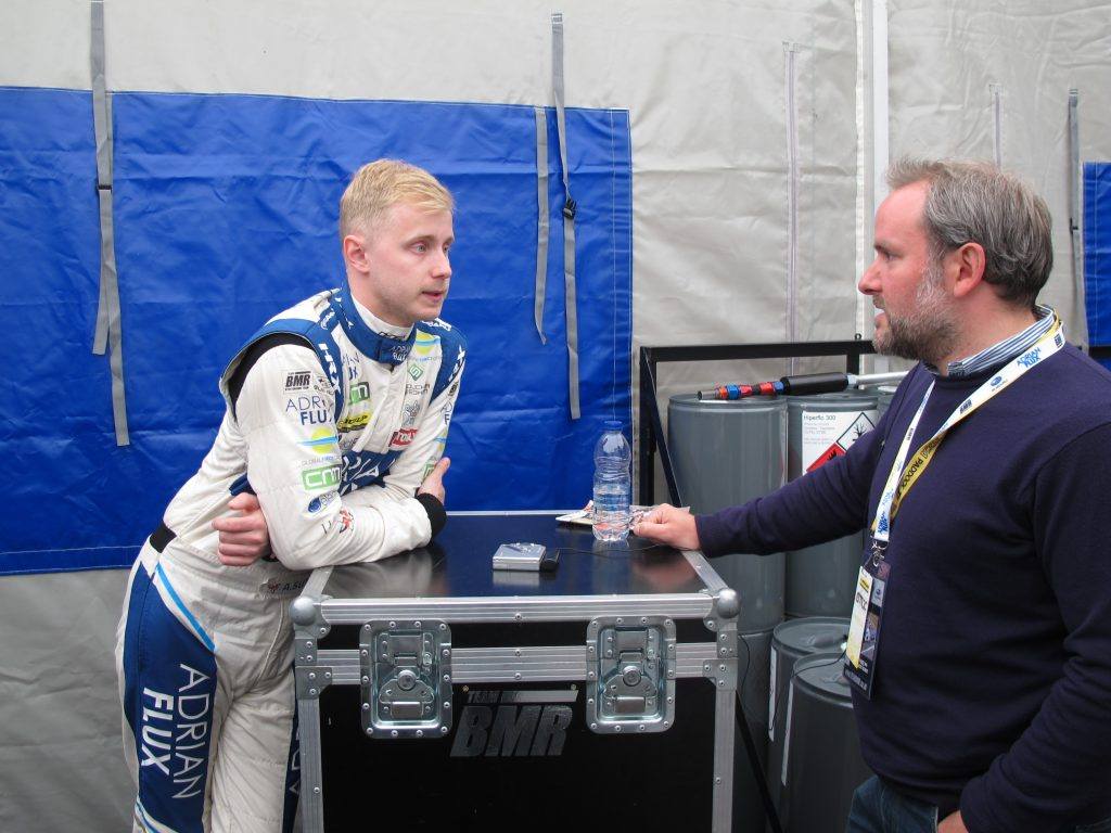 Ash Sutton with Luke Edwards