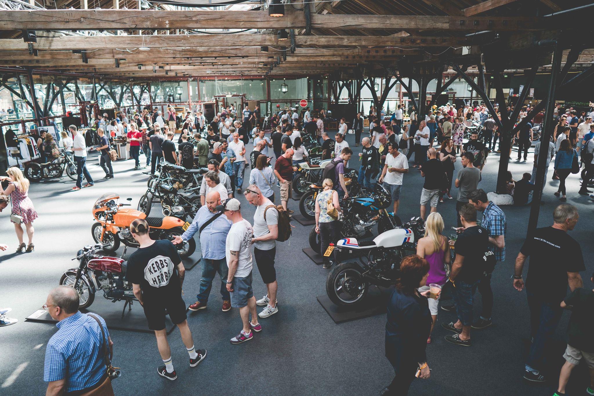 Bike Shed crowd