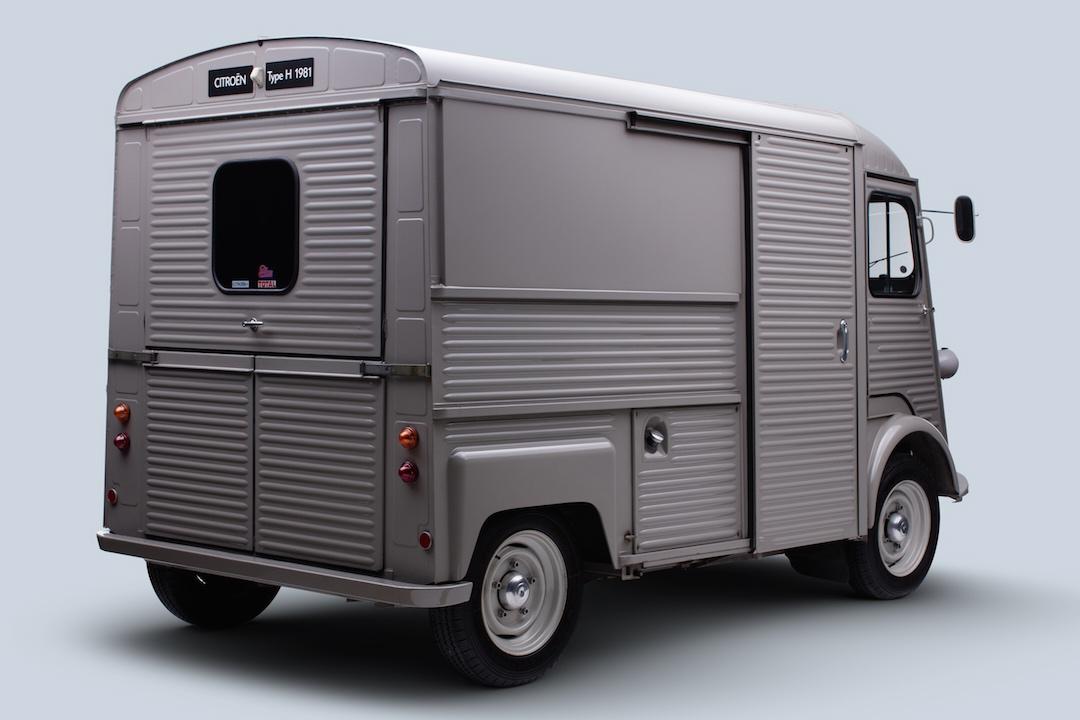 Citroen H Van rear