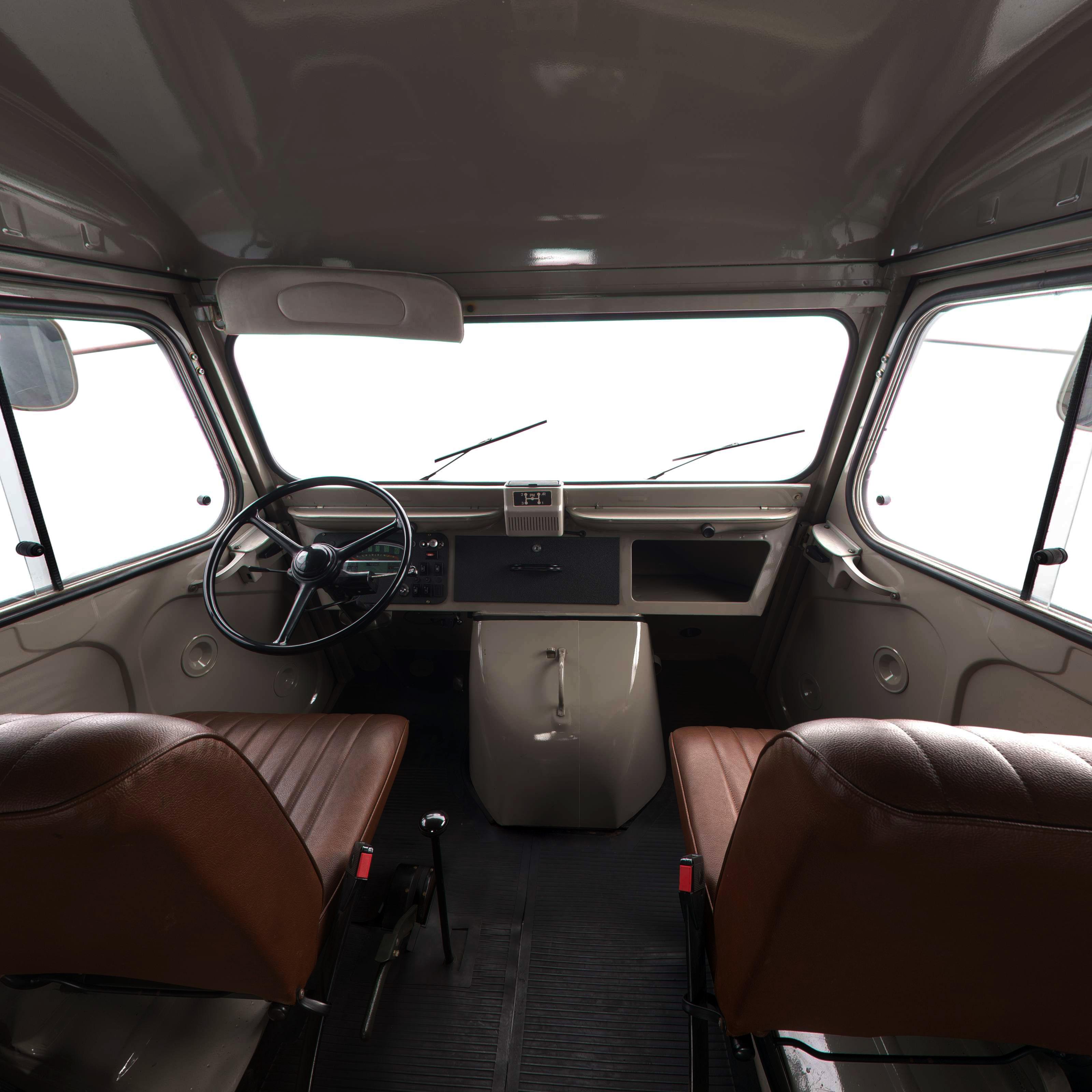 H Van interior