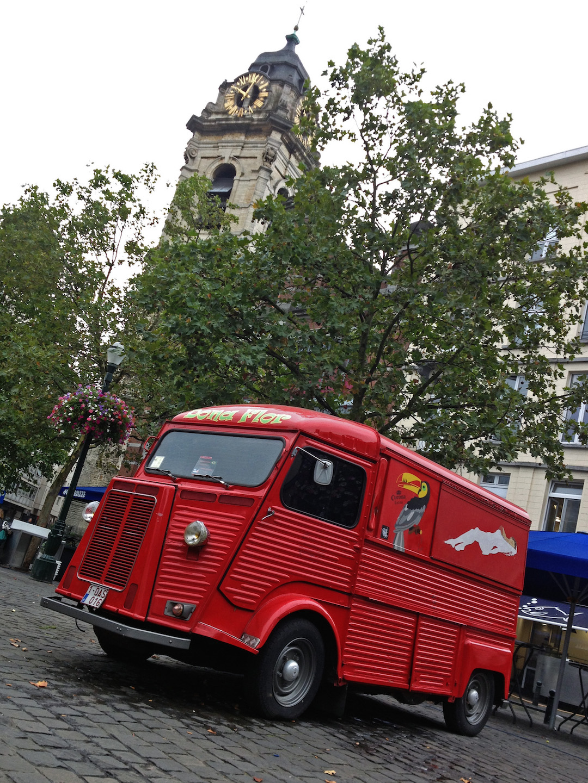 Red H Van