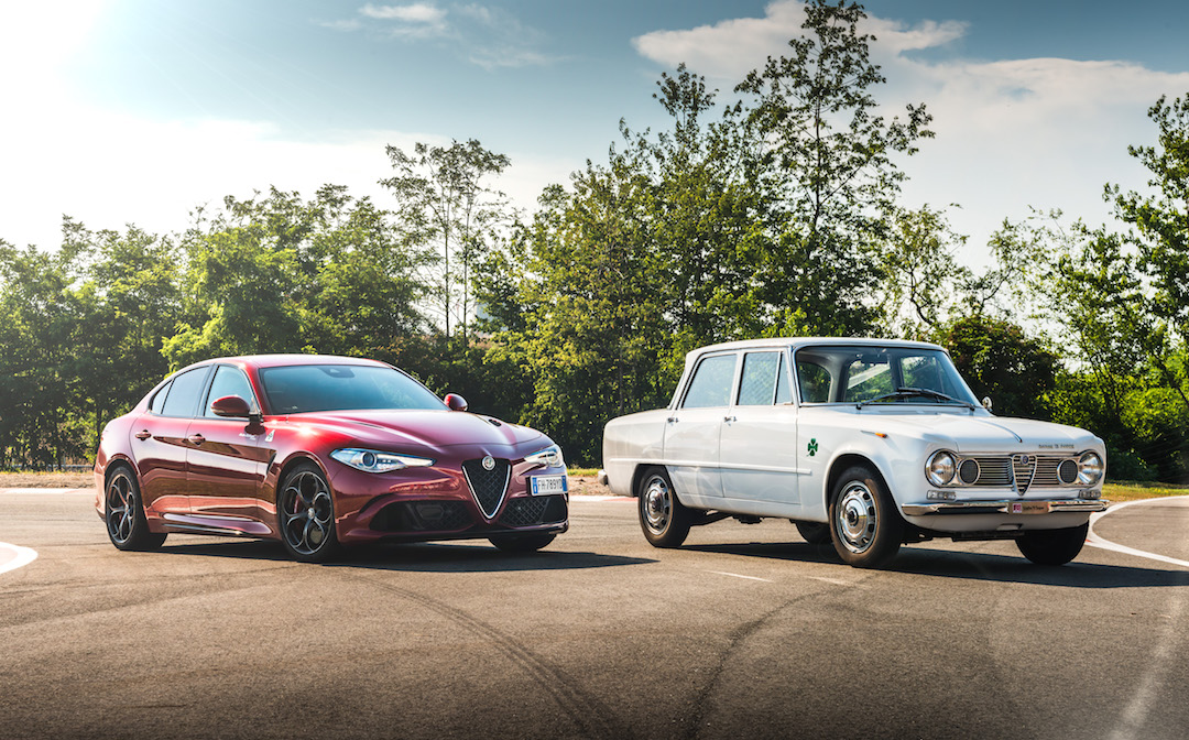 Giulia past and present