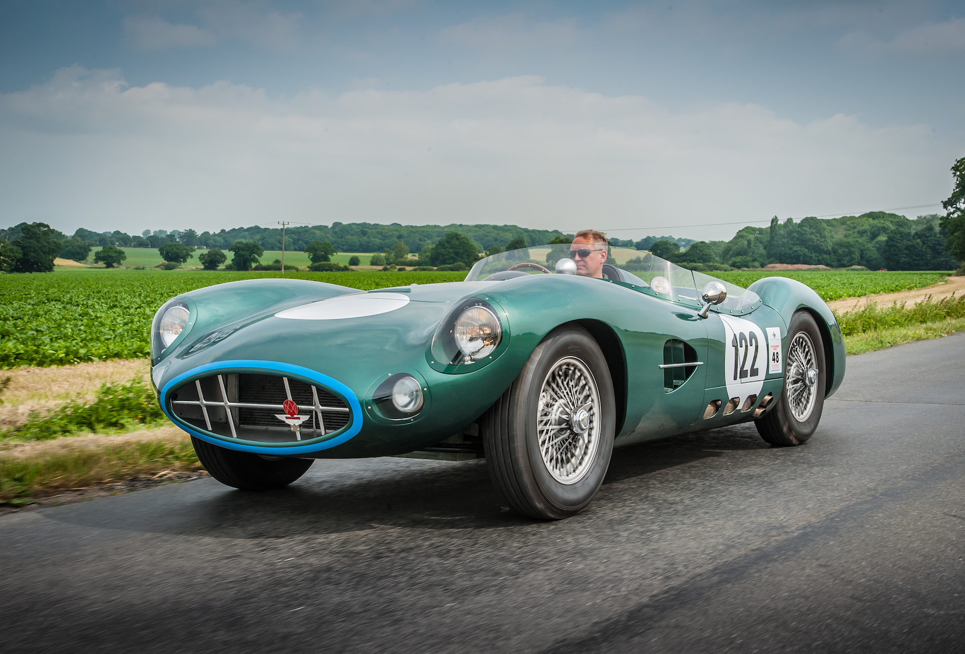 ASM R1 Aston Martin DBR1 road test