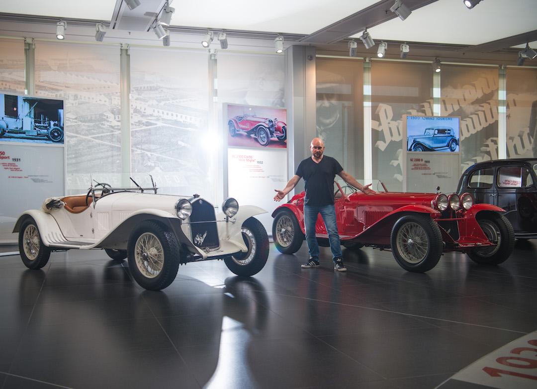 im with 6C 1750 Gran Sport and 8C 2300 Corto Mille Miglia