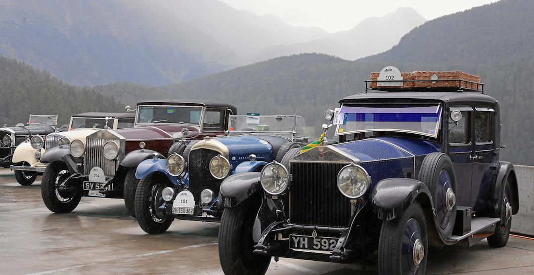 British Classic Car Meeting - Influx