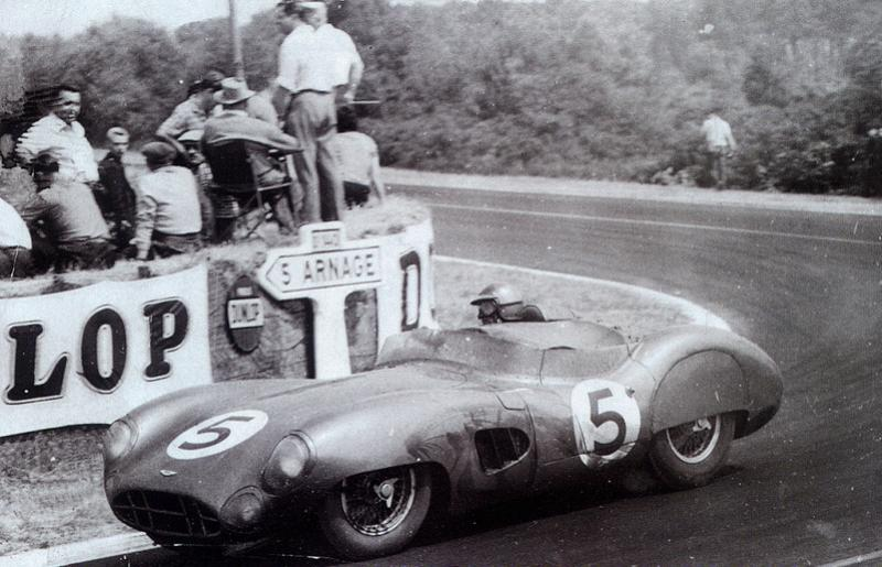 Action from Le Mans 1959