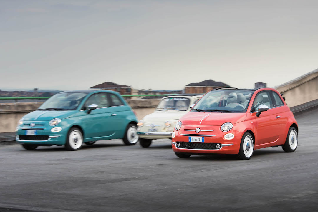 fiat 500 old and new