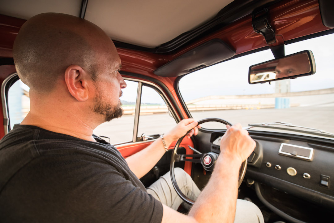 Fiat 500 interior