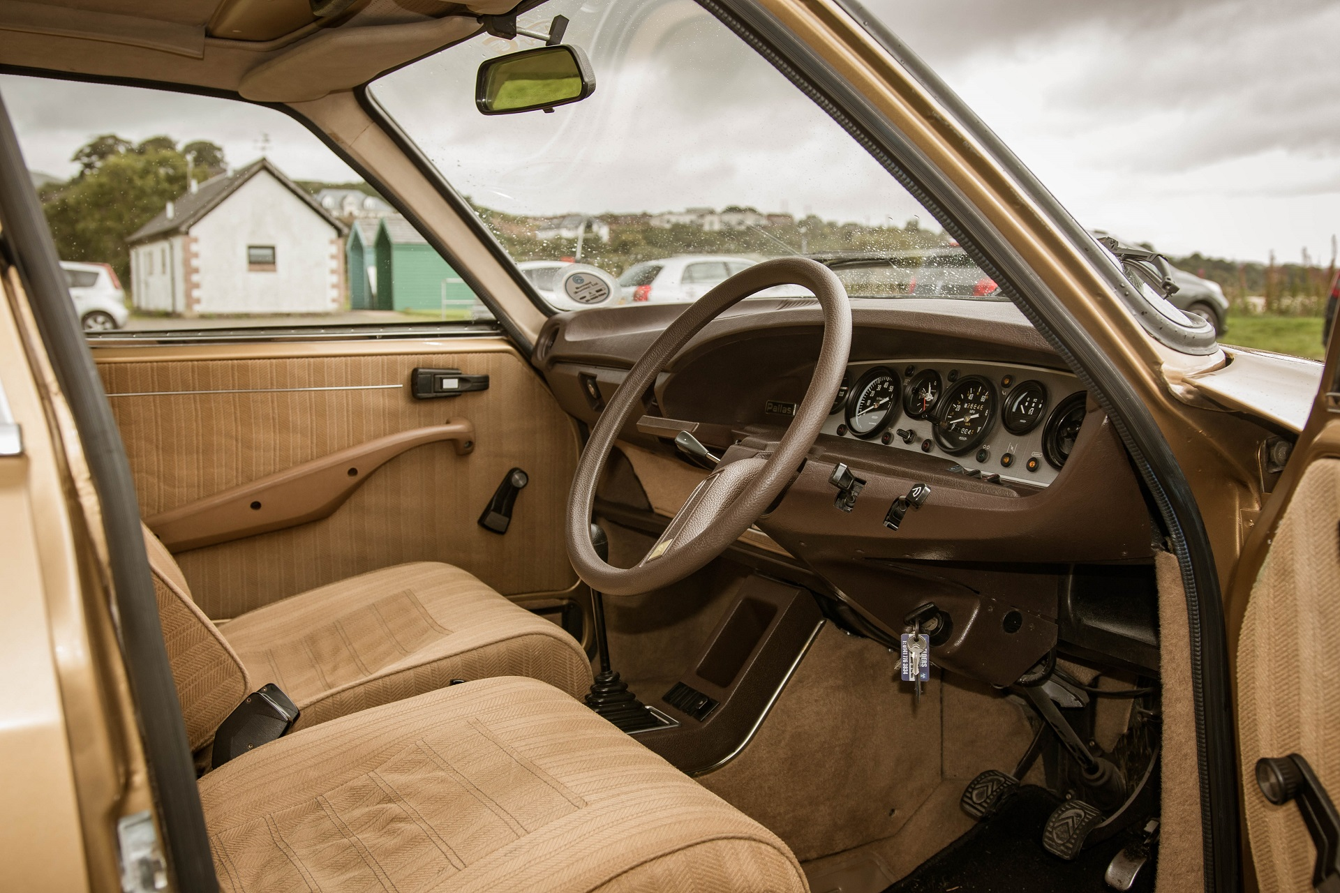 GS interior