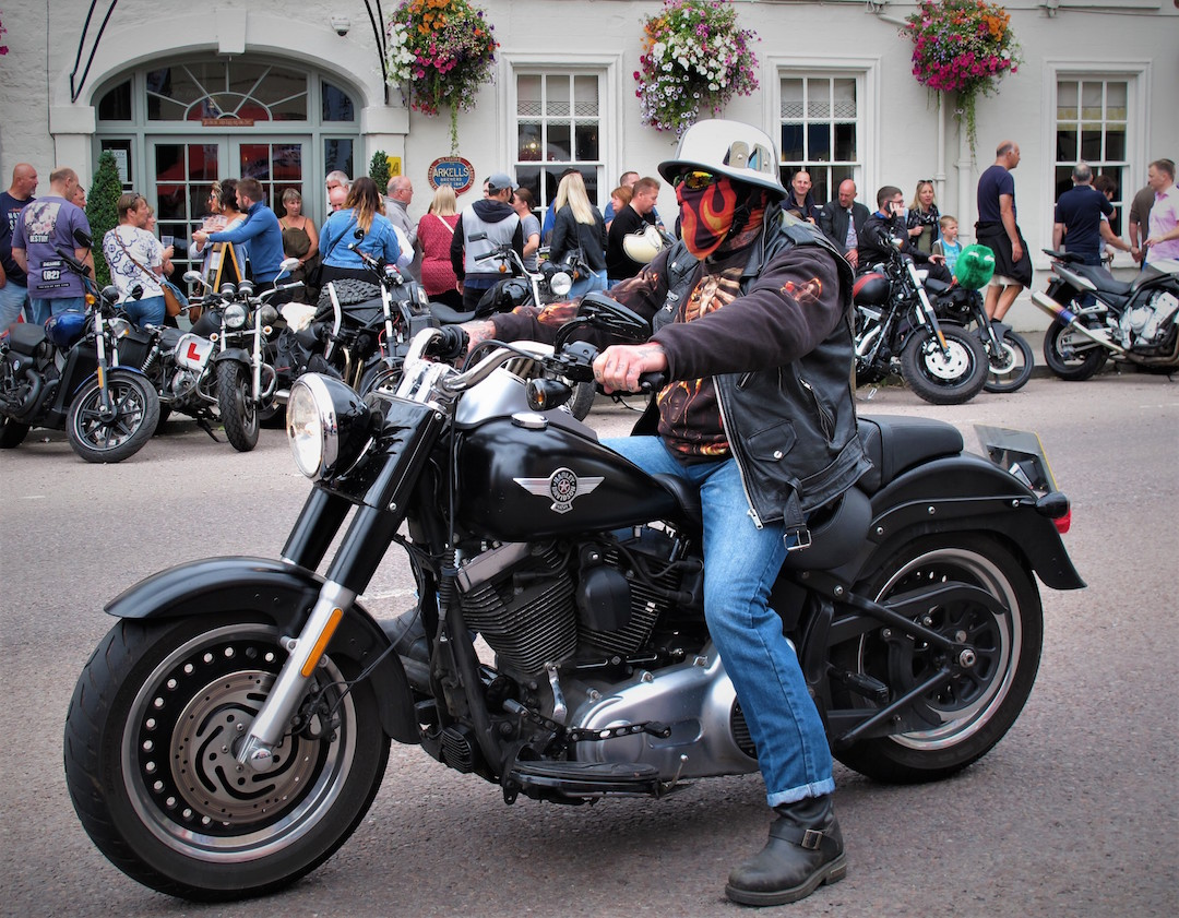 Harley at Calne