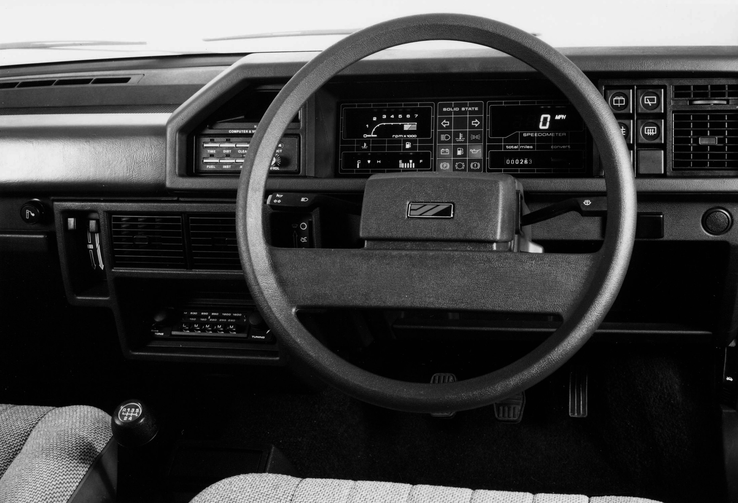 MG Maestro interior