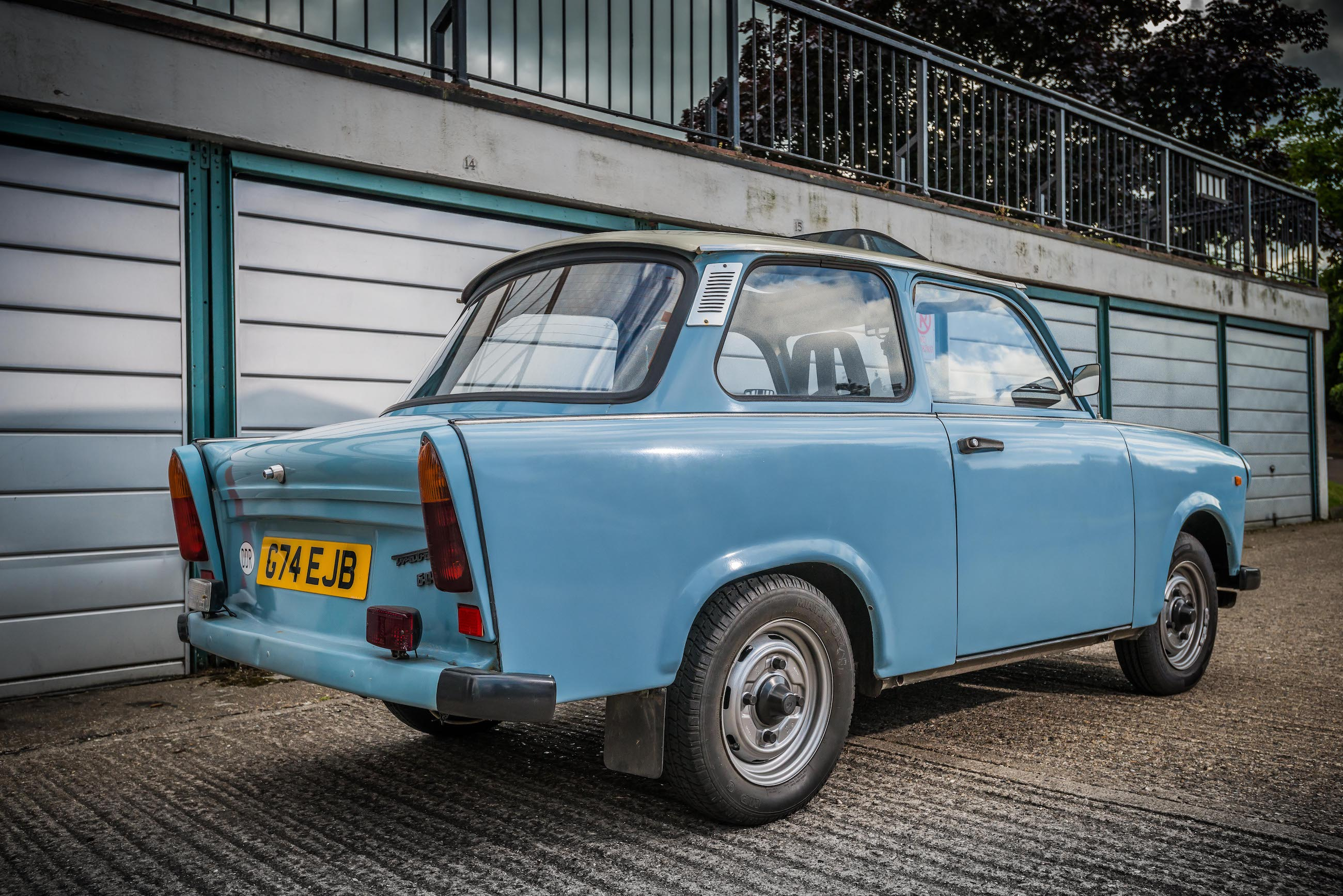 Trabant P601 rear view