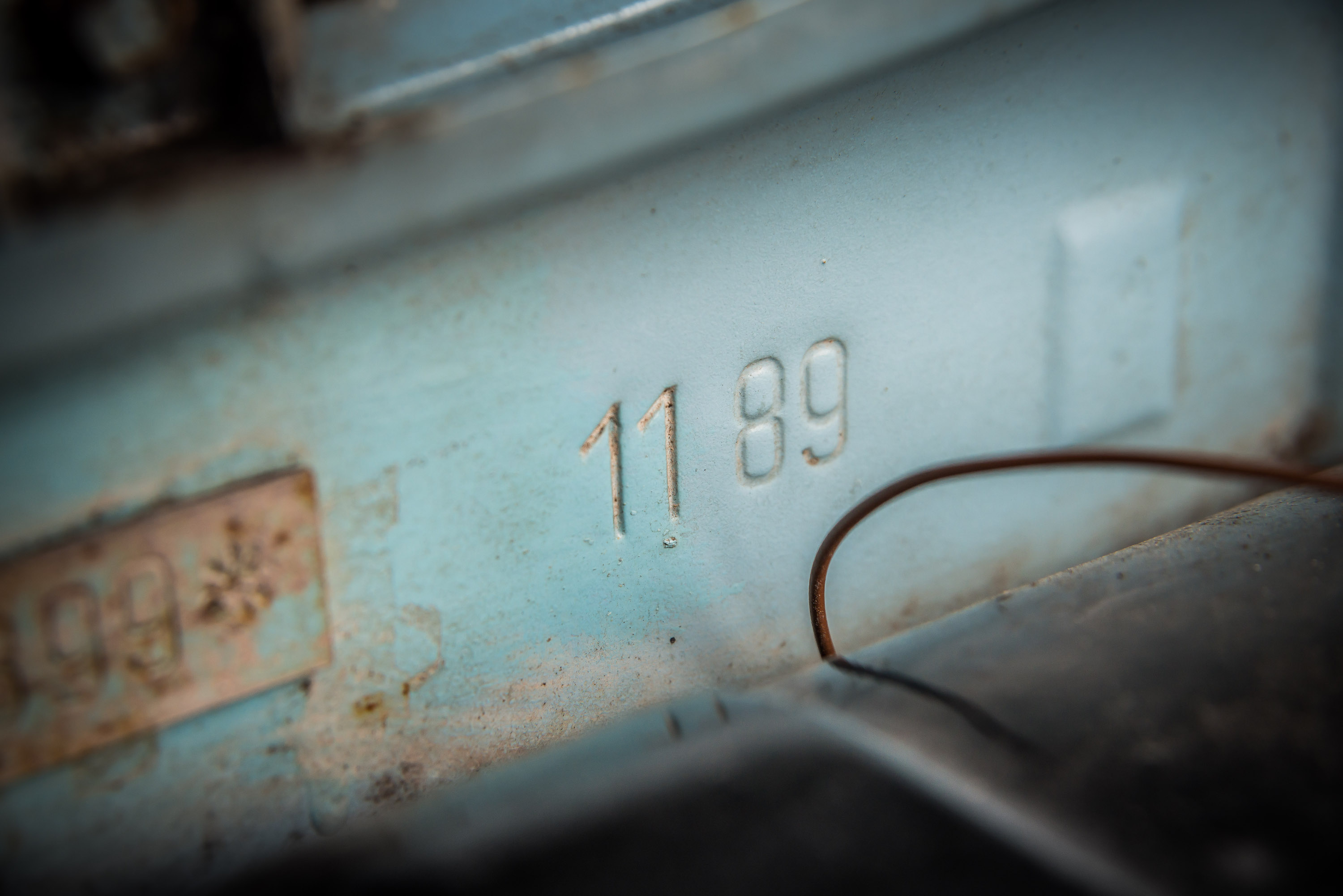 Trabant P601 date stamp