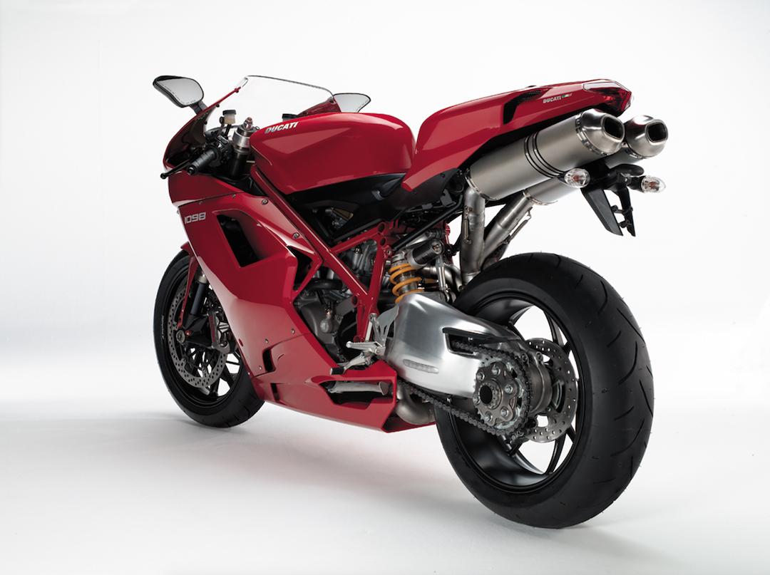 Ducati 1098 rear