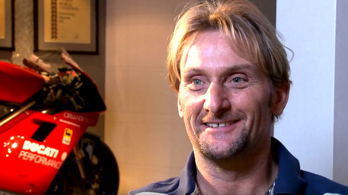 Carl Fogarty Foggy